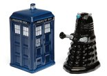 Tardis Salt And Pepper Shakers